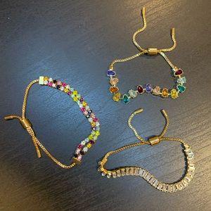 BAUBLEBAR | 3x Crystal Bracelet Bundle